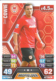 Don Cowie Cardiff City 2013/14 Topps Match Attax #44