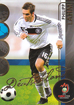 Philipp Lahm Germany Panini Euro 2008 Card Collection #31