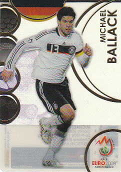 Michael Ballack Germany Panini Euro 2008 Card Collection Ultra card #37