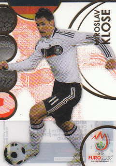 Miroslav Klose Germany Panini Euro 2008 Card Collection Ultra card #41