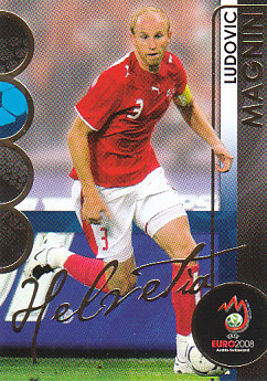 Ludovic Magnin Switzerland Panini Euro 2008 Card Collection #81