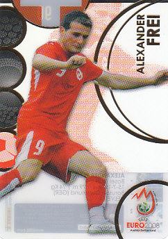 Alexander Frei Switzerland Panini Euro 2008 Card Collection Ultra card #90