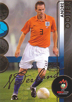 Andre Ooijer Netherlands Panini Euro 2008 Card Collection #117