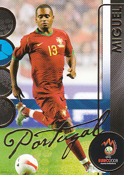 Miguel Portugal Panini Euro 2008 Card Collection #147