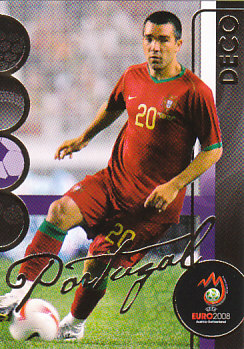 Deco Portugal Panini Euro 2008 Card Collection #150