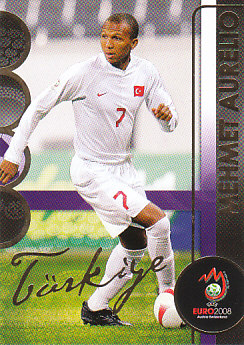 Mehmet Aurelio Turkey Panini Euro 2008 Card Collection #187