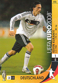 Kevin Kuranyi Germany Panini Euro 2008 Card Game #173