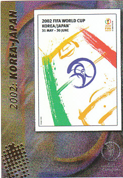 Official Poster 2002 Korea-Japan Panini World Cup 2002 #20