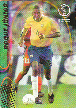 Roque Junior Brazil Panini World Cup 2002 #33