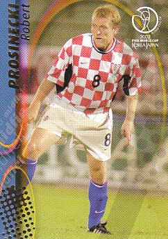 Robert Prosinecki Croatia Panini World Cup 2002 #65