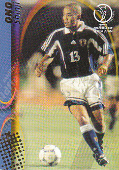 Shinji Ono Japan Panini World Cup 2002 #76