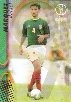 Rafael Marquez Mexico Panini World Cup 2002 #79