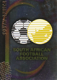 Federation Logo South Africa Panini World Cup 2002 #136