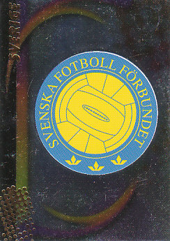 Federation Logo Sweden Panini World Cup 2002 #137