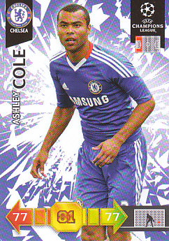Ashley Cole Chelsea 2010/11 Panini Adrenalyn XL CL #99