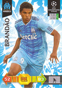 Brandao Olympique Marseille 2010/11 Panini Adrenalyn XL CL #187