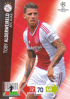 Toby Alderweireld AFC Ajax 2012/13 Panini Adrenalyn XL CL #3