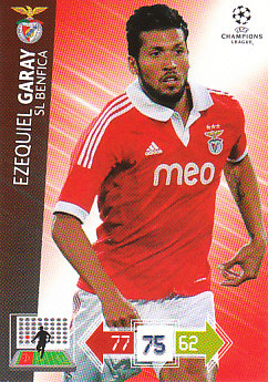 Ezequiel Garay SL Benfica 2012/13 Panini Adrenalyn XL CL #61