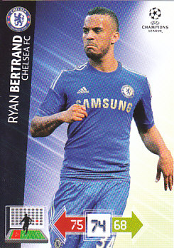 Ryan Bertrand Chelsea 2012/13 Panini Adrenalyn XL CL #88