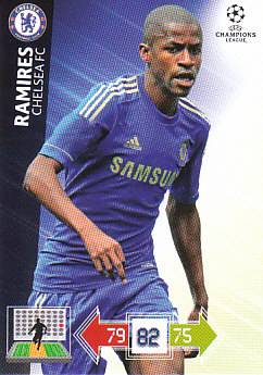 Ramires Chelsea 2012/13 Panini Adrenalyn XL CL #90
