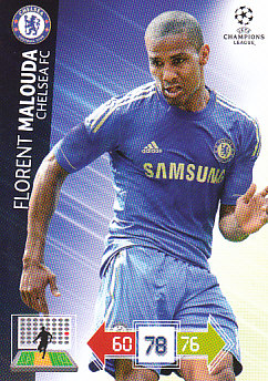 Florent Malouda Chelsea 2012/13 Panini Adrenalyn XL CL #94