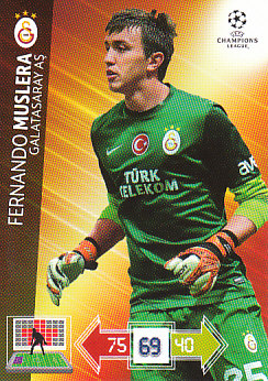 Fernando Muslera Galatasaray AS 2012/13 Panini Adrenalyn XL CL #100