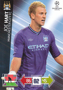 Joe Hart Manchester City 2012/13 Panini Adrenalyn XL CL #121