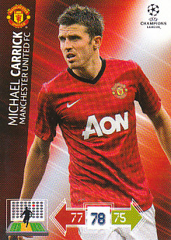 Michael Carrick Manchester United 2012/13 Panini Adrenalyn XL CL #140