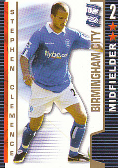 Stephen Clemence Birmingham City 2004/05 Shoot Out #46