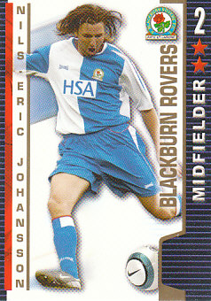 Nils/Eric Johansson Blackburn Rovers 2004/05 Shoot Out #66