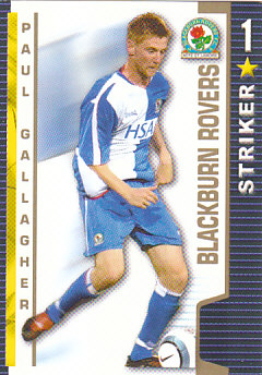 Paul Gallagher Blackburn Rovers 2004/05 Shoot Out #72