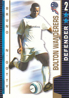 Bruno N'Gotty Bolton Wanderers 2004/05 Shoot Out #74