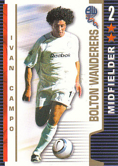 Ivan Campo Bolton Wanderers 2004/05 Shoot Out #83