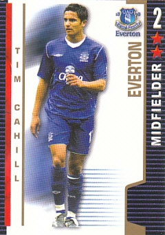 Tim Cahill Everton 2004/05 Shoot Out #152