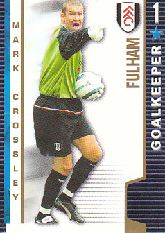 Mark Crossley Fulham 2004/05 Shoot Out #164