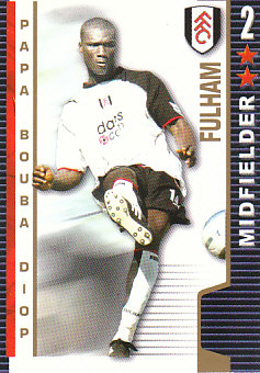 Papa Bouba Diop Fulham 2004/05 Shoot Out #176