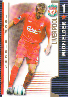 Igor Biscan Liverpool 2004/05 Shoot Out #188