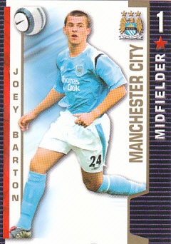 Joey Barton Manchester City 2004/05 Shoot Out #209