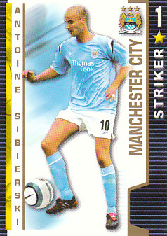 Antoine Sibierski Manchester City 2004/05 Shoot Out #216