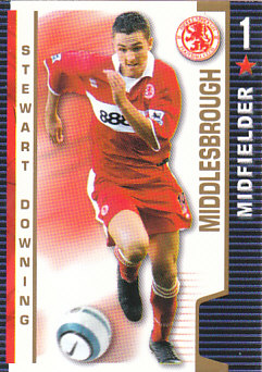 Stewart Downing Middlesbrough 2004/05 Shoot Out #243