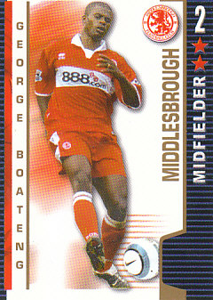 George Boateng Middlesbrough 2004/05 Shoot Out #244