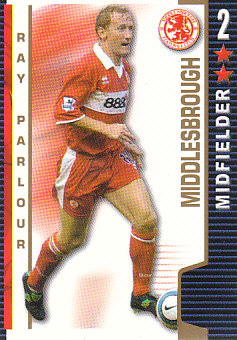 Ray Parlour Middlesbrough 2004/05 Shoot Out #246
