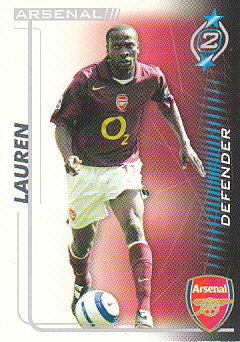 Lauren Arsenal 2005/06 Shoot Out #3
