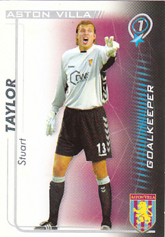 Stuart Taylor Aston Villa 2005/06 Shoot Out #19