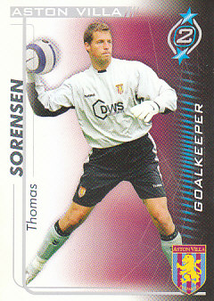 Thomas Sorensen Aston Villa 2005/06 Shoot Out #20
