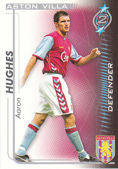 Aaron Hughes Aston Villa 2005/06 Shoot Out #21