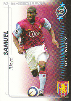 Jlloyd Samuel Aston Villa 2005/06 Shoot Out #22