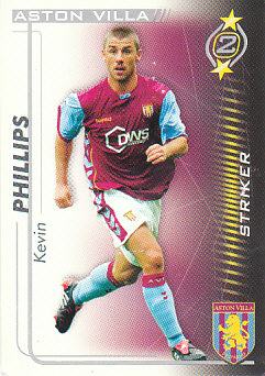 Kevin Phillips Aston Villa 2005/06 Shoot Out #33