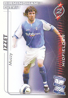 Muzzy Izzet Birmingham City 2005/06 Shoot Out #44