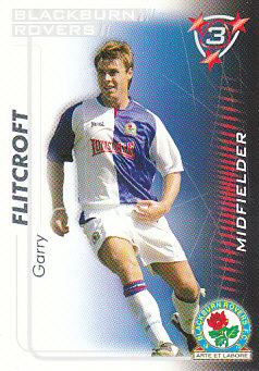 Garry Flitcroft Blackburn Rovers 2005/06 Shoot Out #62